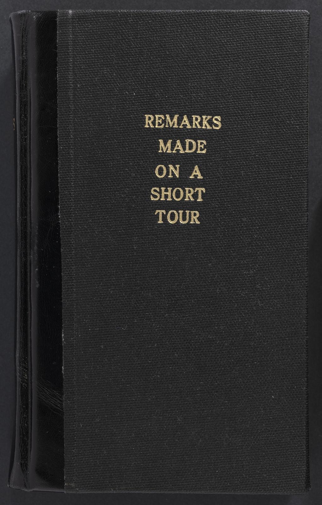 Observations effectuées lors d'une tournée rapide entre Hartford et Québec durant l'automne de 1819, de Benjamin Silliman