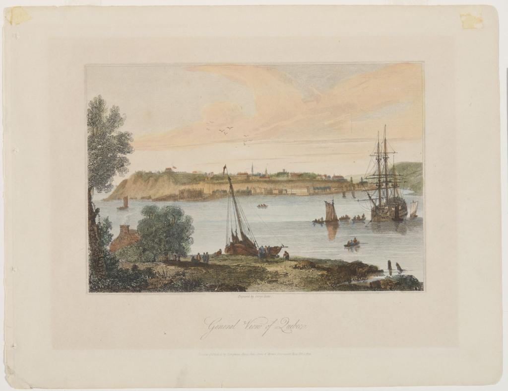 Vue générale de Québec