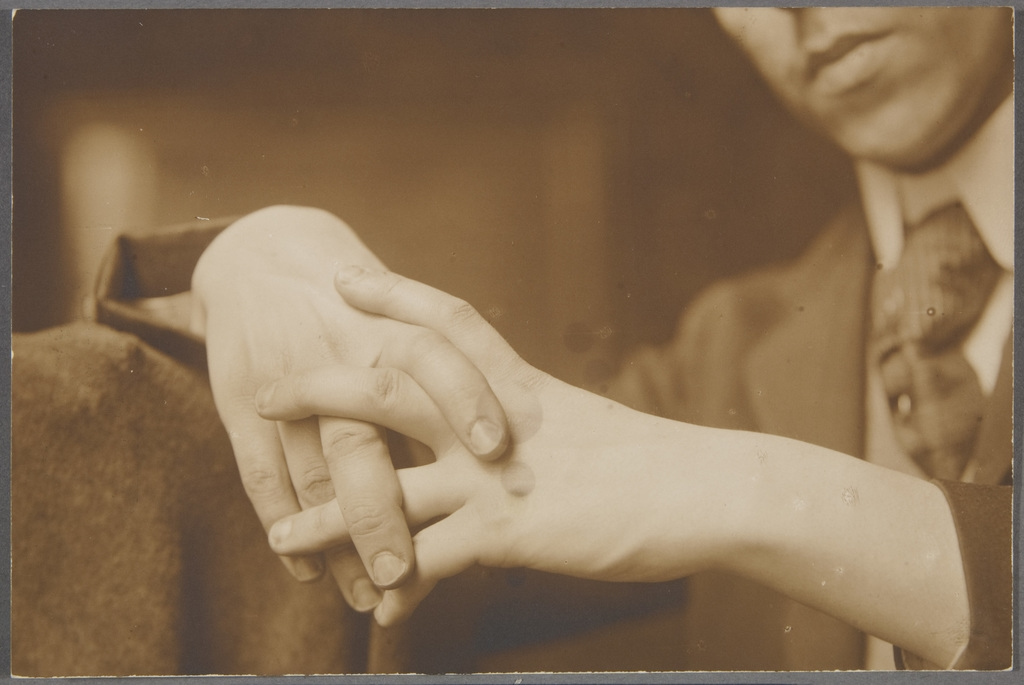Étude de mains jointes
