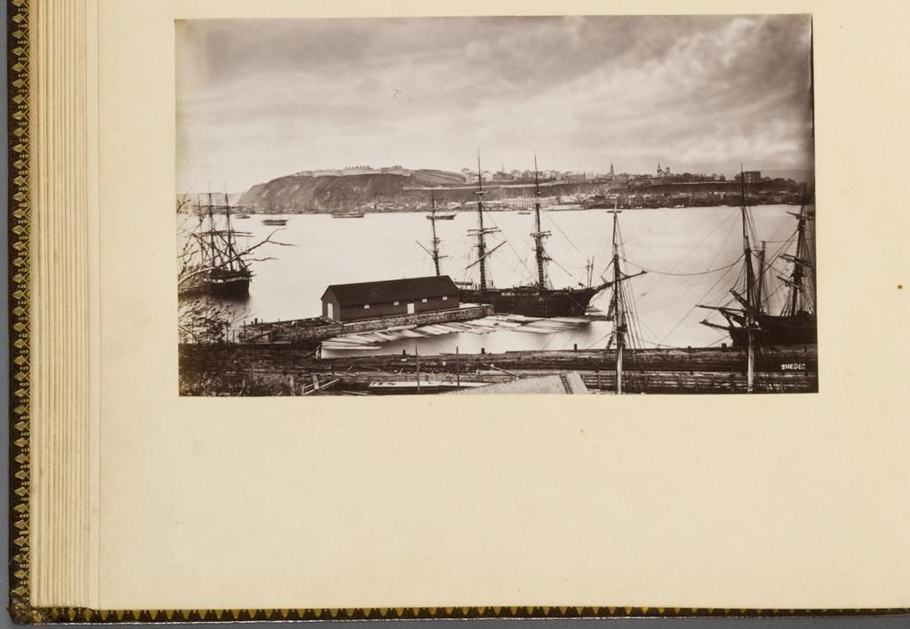 Québec vu de Lévis, de l'album du révérend William M. Black