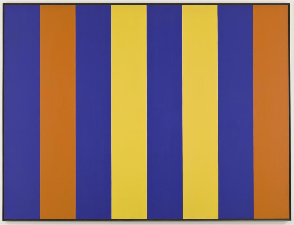 Espace orange-bleu