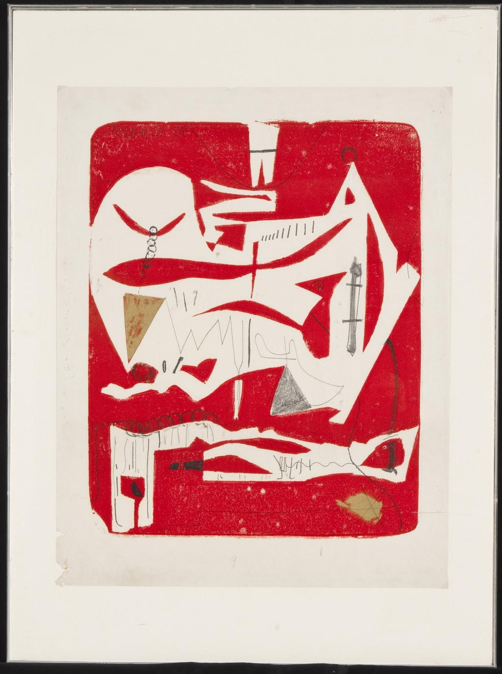 M-27, de la série « Single Autographic Prints »