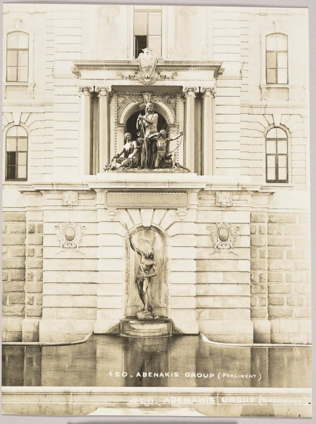 La Fontaine de l'hôtel du Parlement de Québec