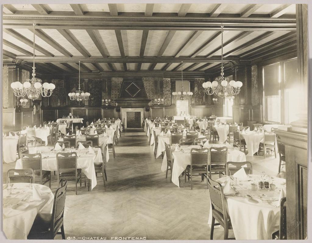 La Salle à manger du Château Frontenac, Québec
