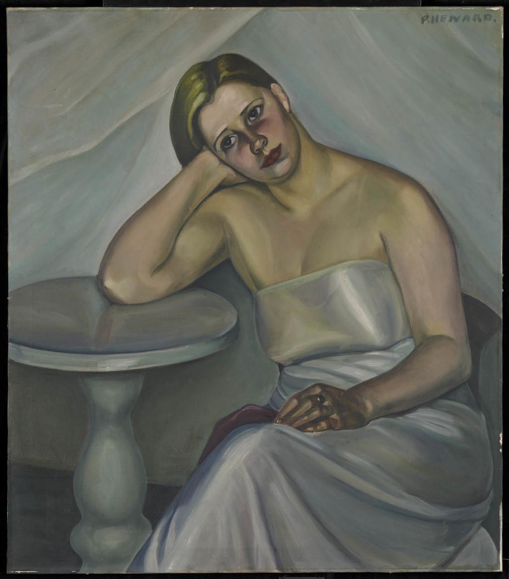 Jeune Femme assise