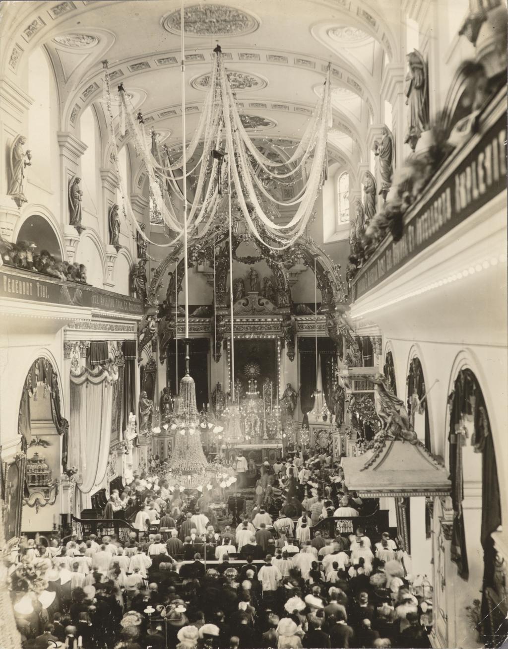 Ouverture du premier concile plénier du Canada, basilique-cathédrale de Notre-Dame-de-Québec