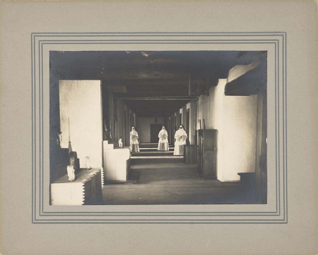 Le Dortoir des Augustines au monastère de l'Hôtel-Dieu de Québec