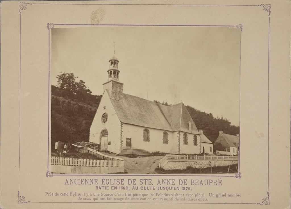 L'Ancienne Église de Sainte-Anne-de-Beaupré