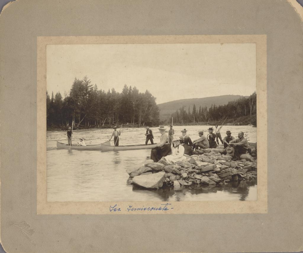 Excursion de pêche de la famille Camille Pouliot au lac Témiscouata