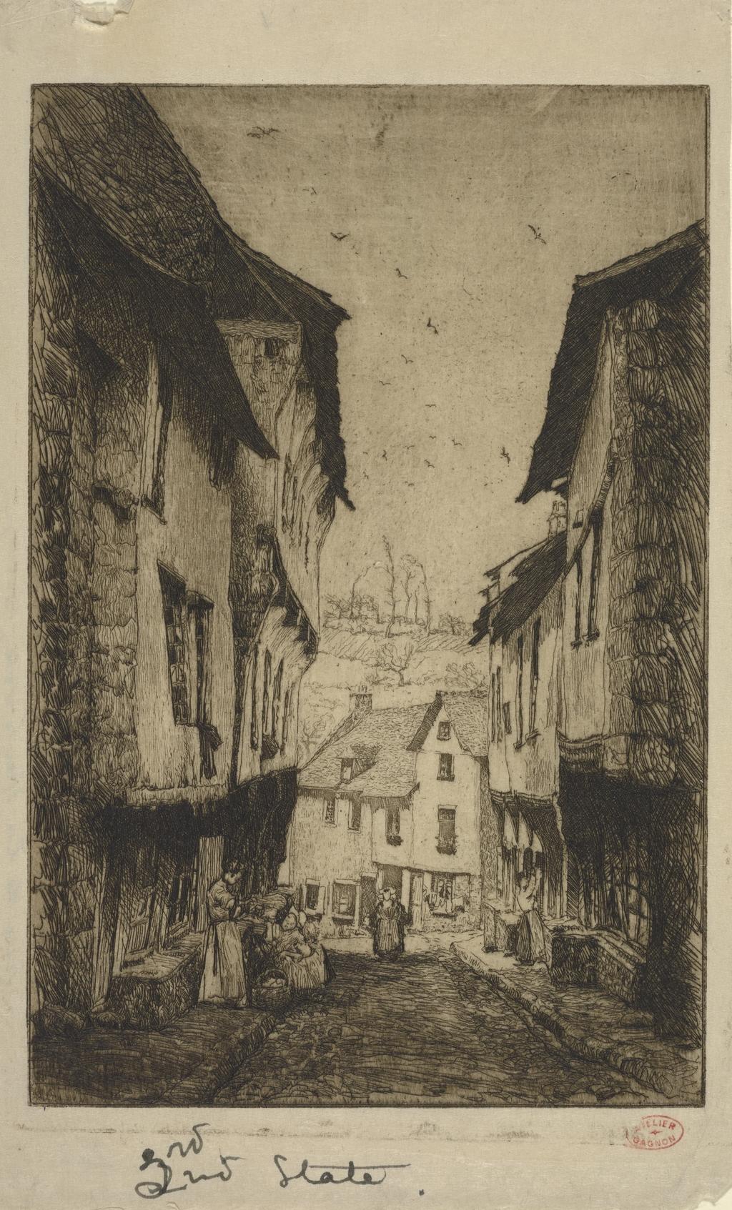 Rue de la Haute-Voie, Dinan