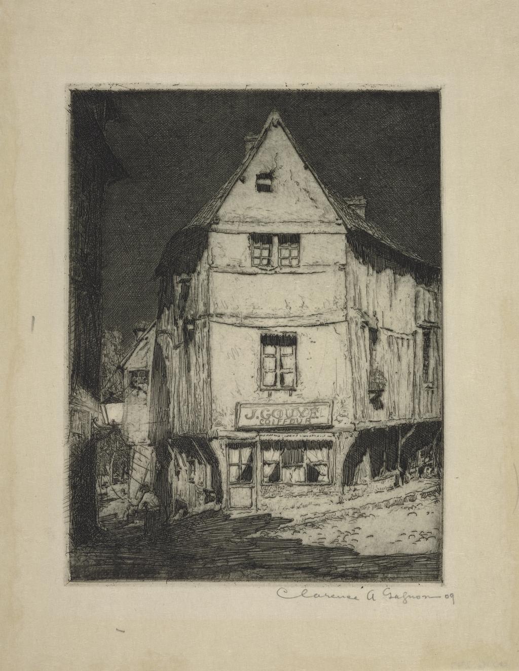 Clair de lune, Pont-de-l'Arche