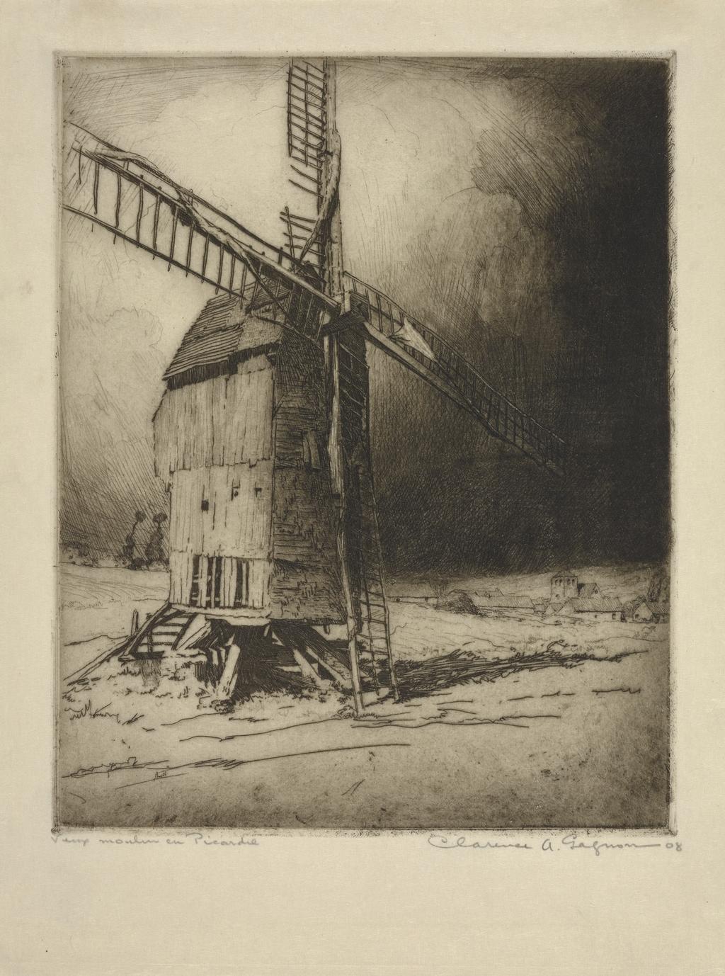 Vieux Moulin en Picardie