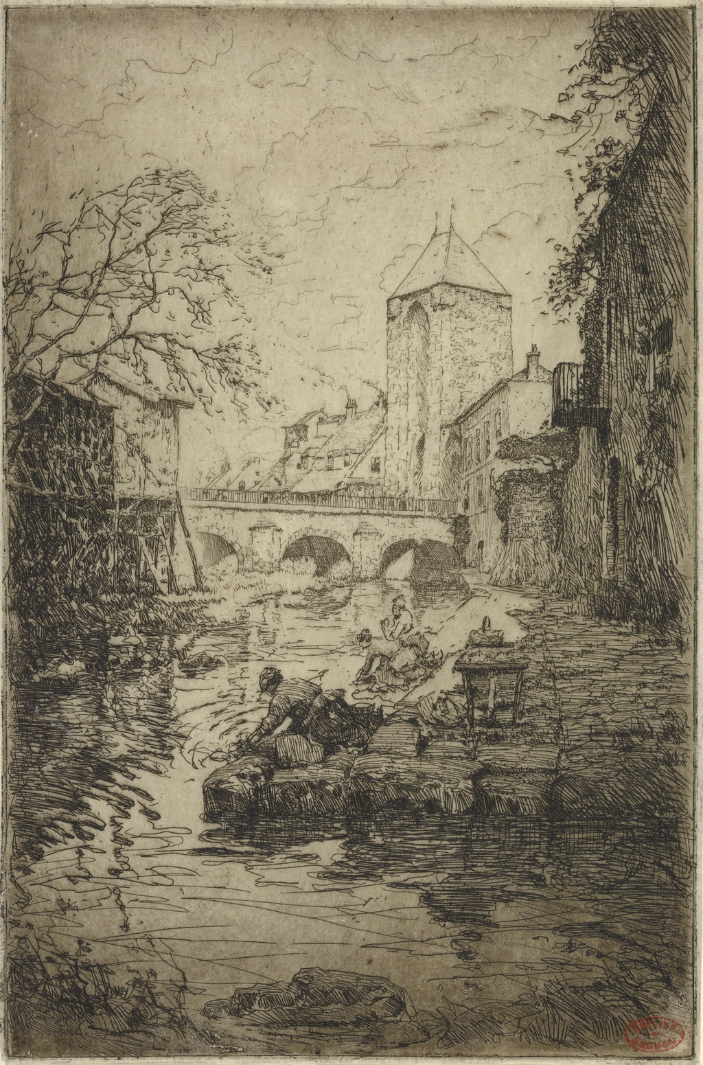 Porte de Bourgogne, Moret-sur-Loing