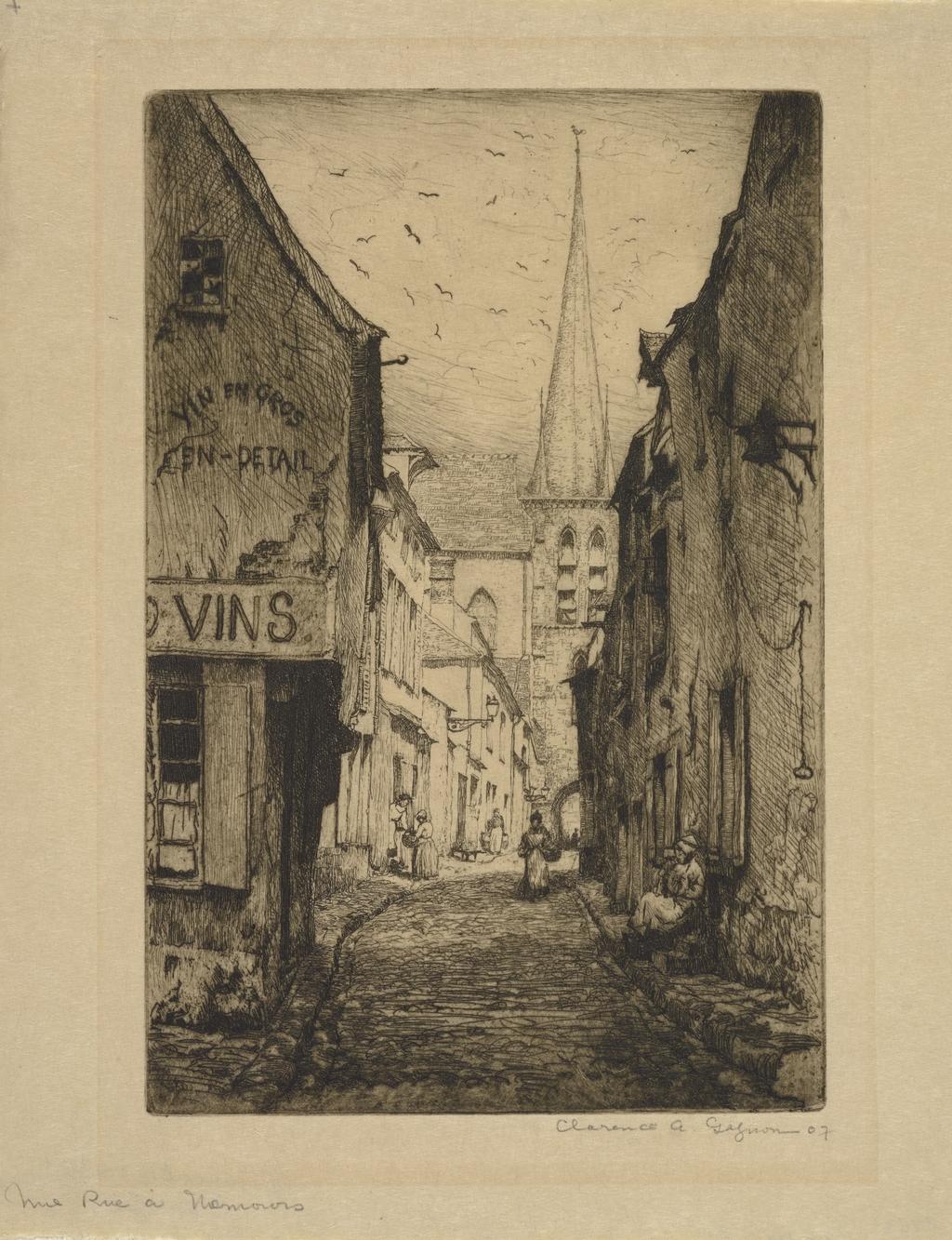 Rue à Nemours