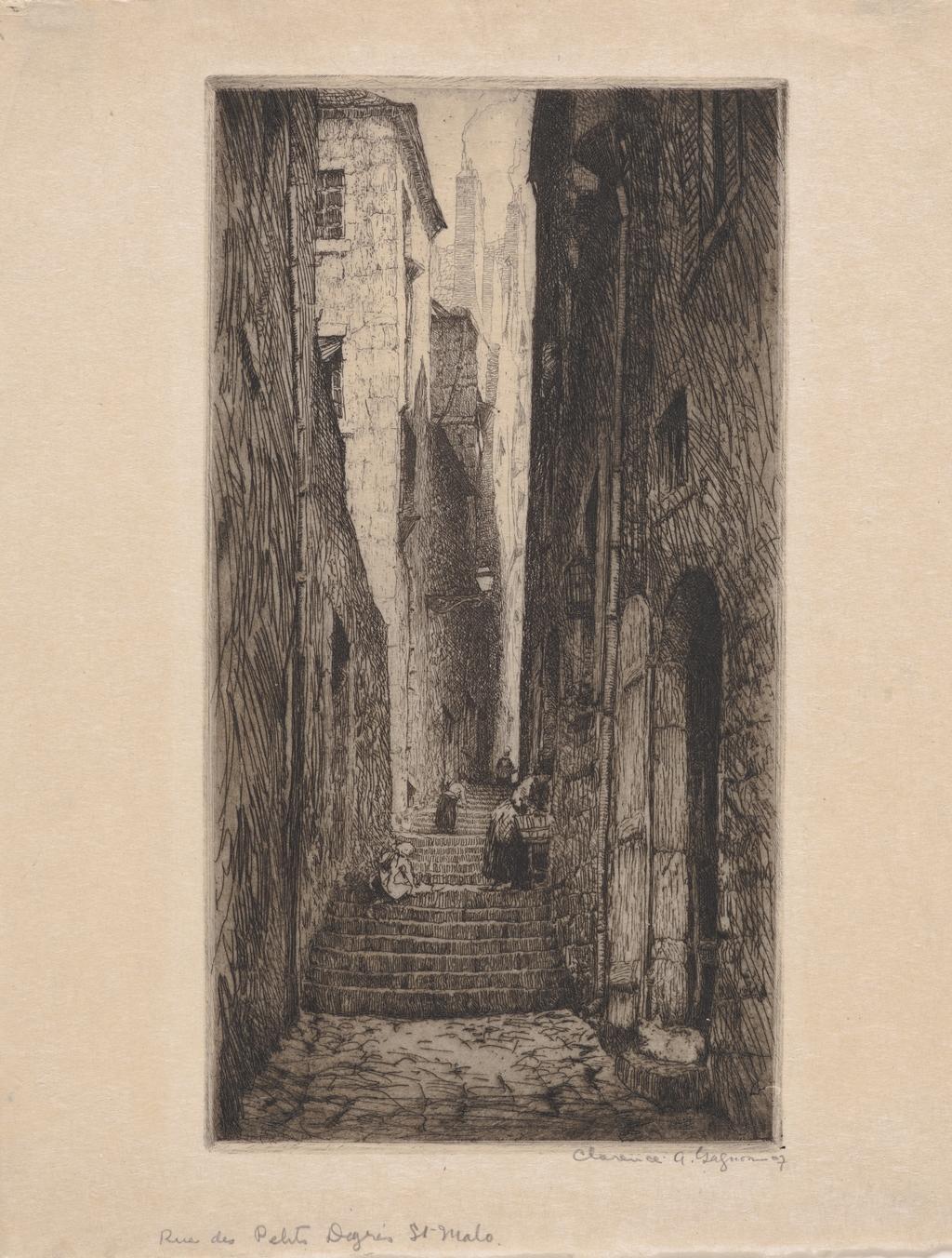 Rue des Petits-Degrés, Saint-Malo