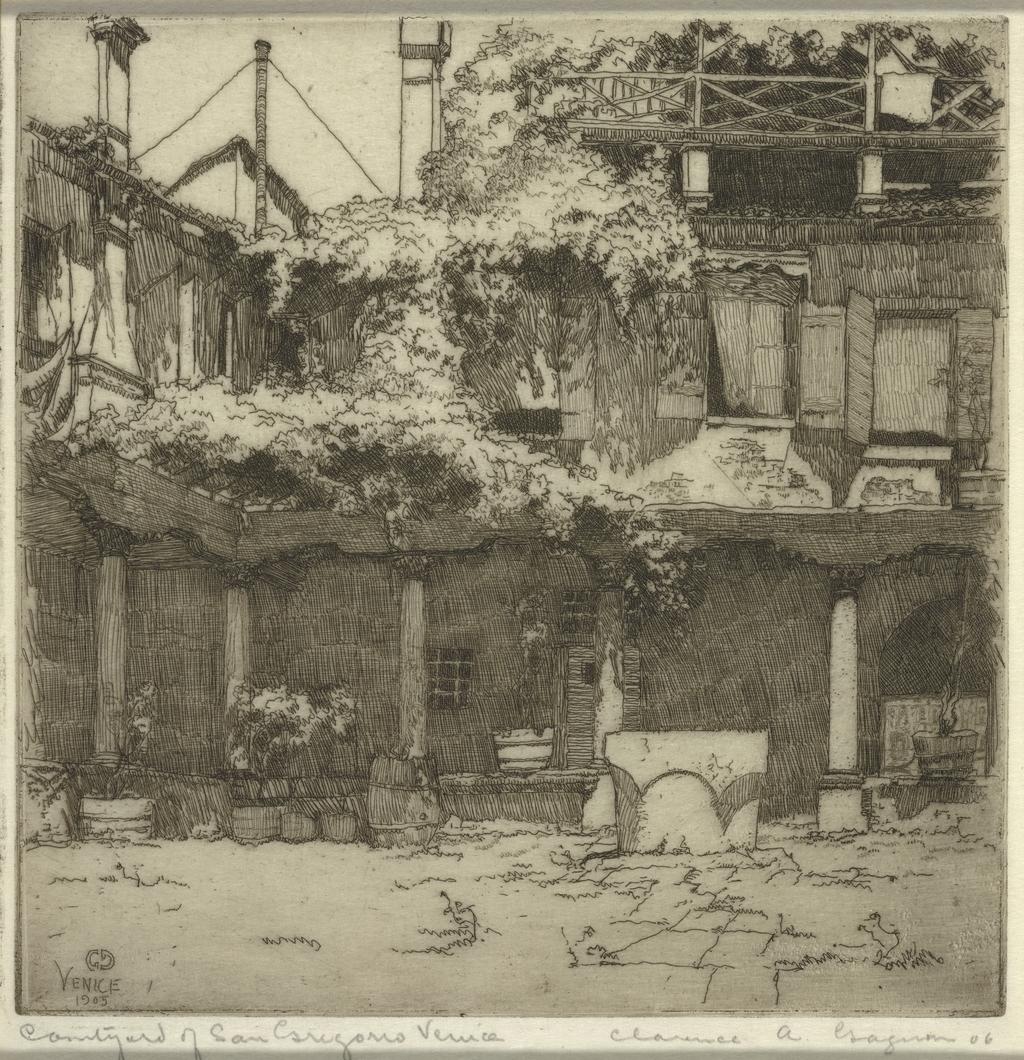 Courtyard of San Gregorio, Venice