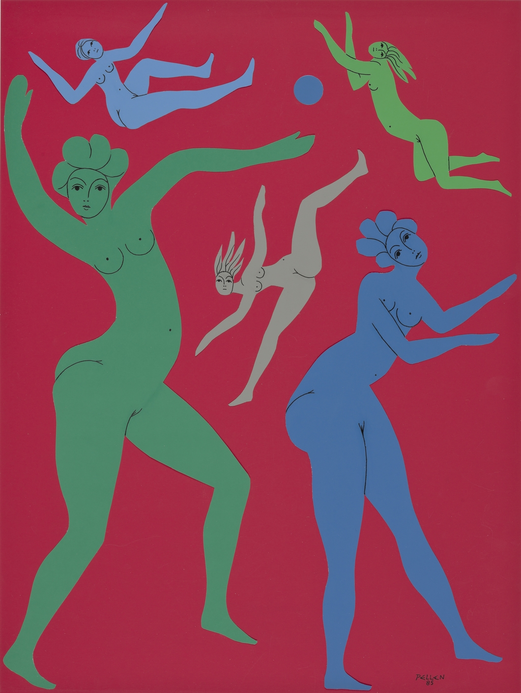 Cinq Femmes et une lune bleue
