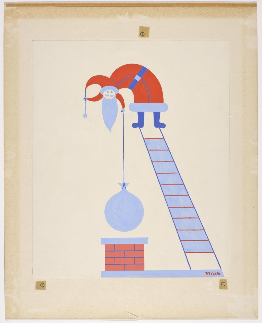 L'Équilibriste - A, de la série Père Noël