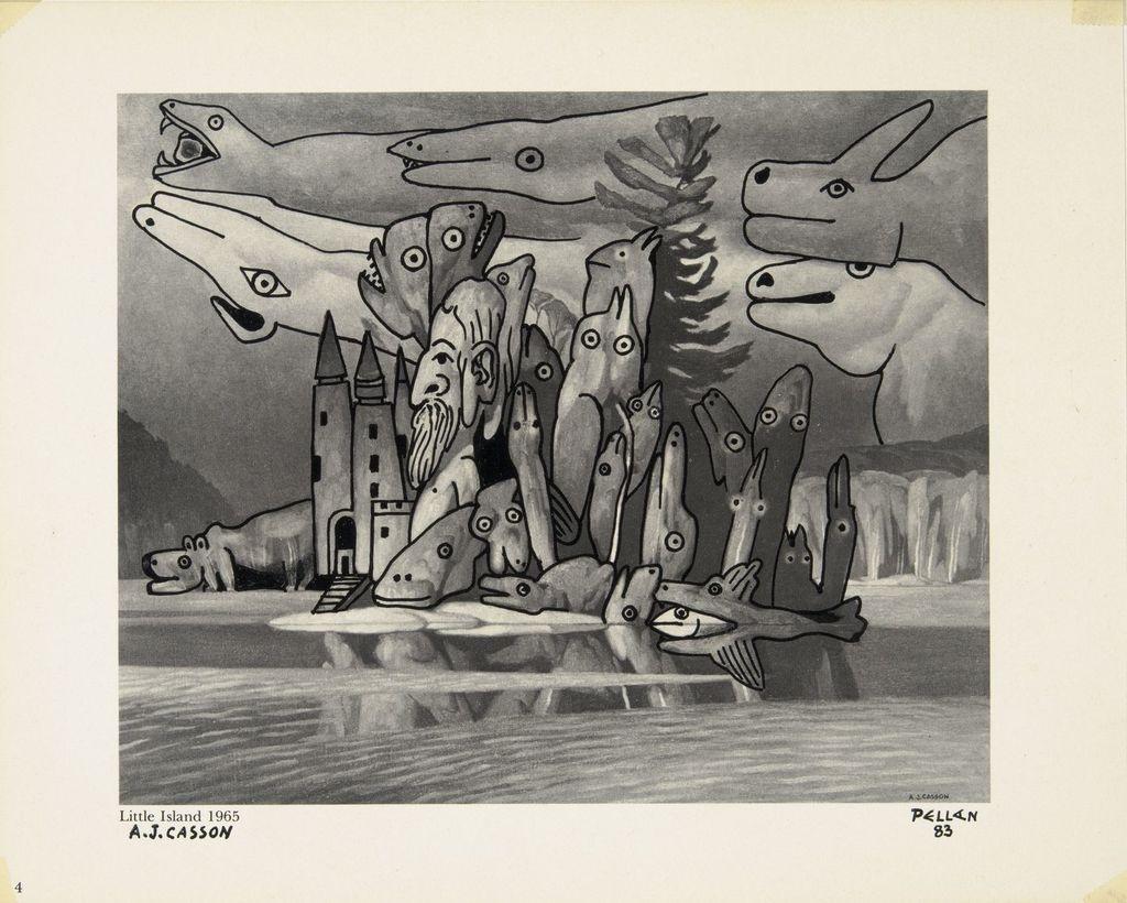Bestiaire d'après « Little Island » d'A.J. Casson