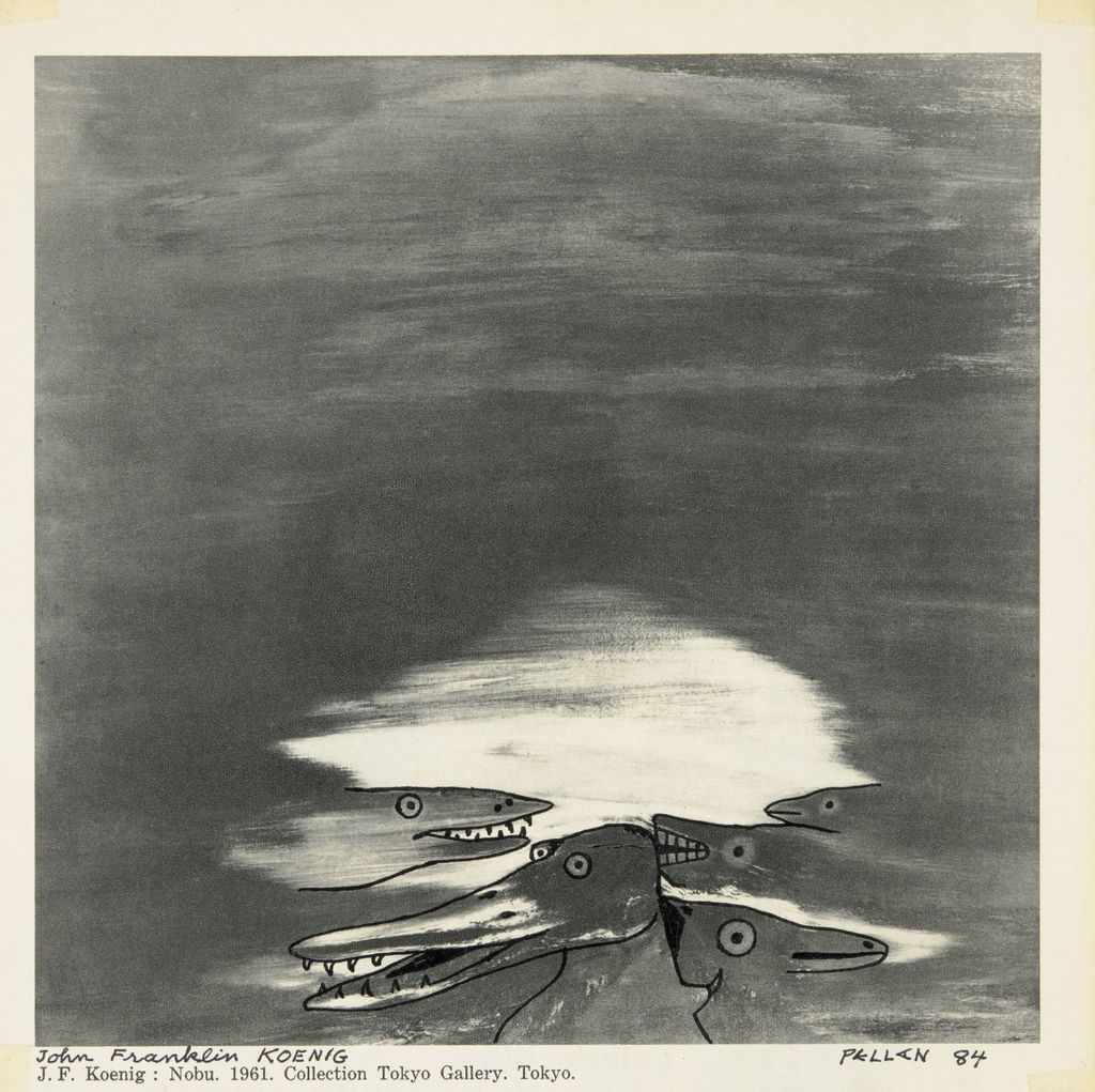 Bestiaire d'après « Nobu » de John Franklin Koenig