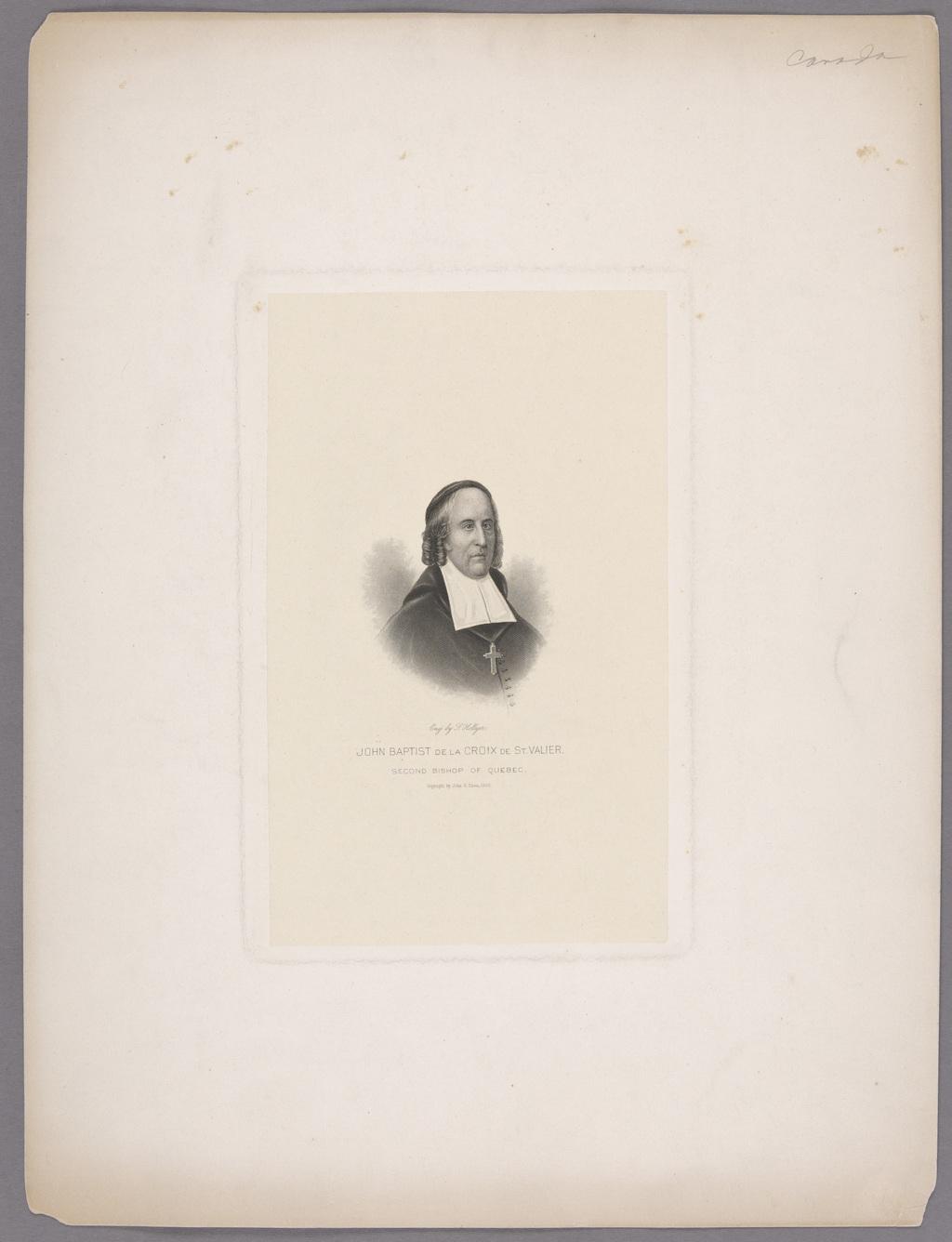 Monseigneur Jean-Baptiste de La Croix de Chevrières de Saint-Vallier