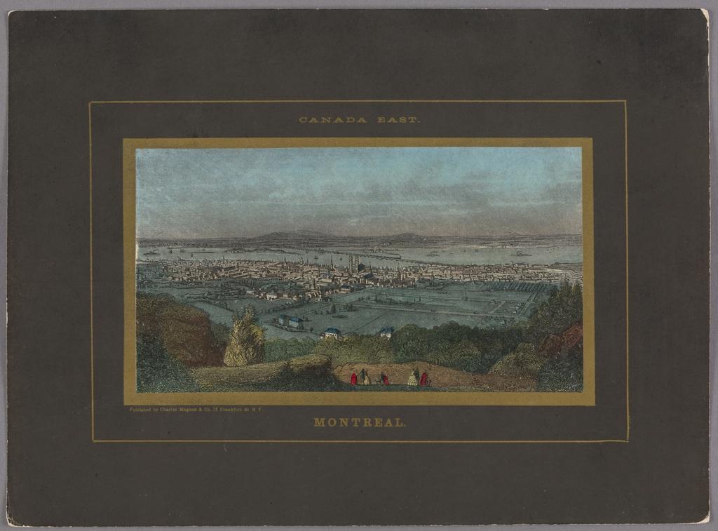 Montréal vu du mont Royal