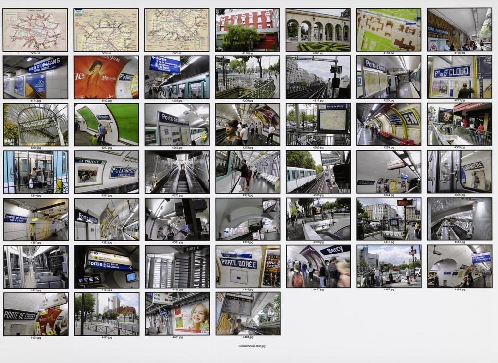 To the Gates - Paris Metro Rides