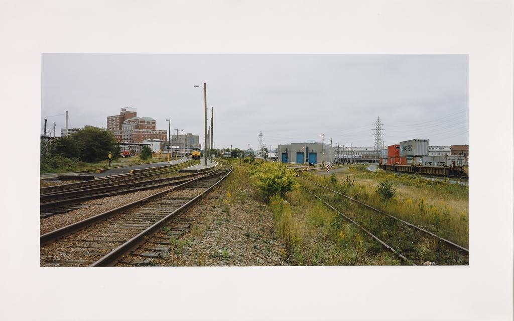 Rails, Halifax, Nouvelle-Écosse, de la série « Paysages étalonnés »