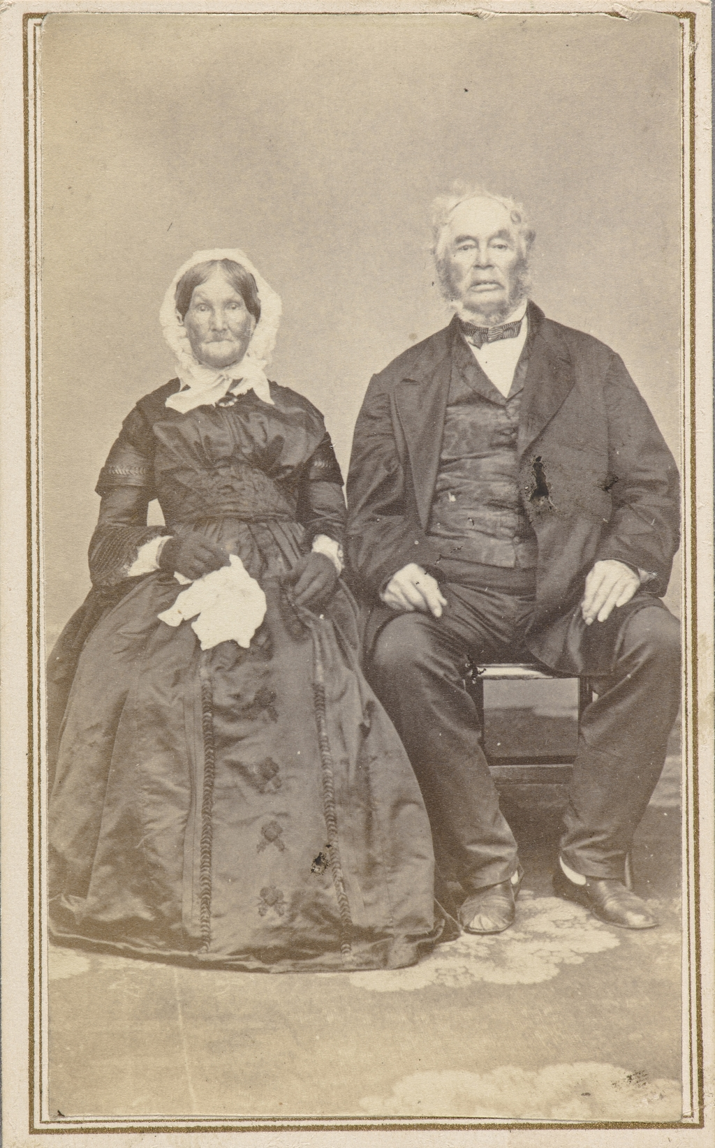 Portrait de couple, de l'album de collection dit de Napoléon Garneau