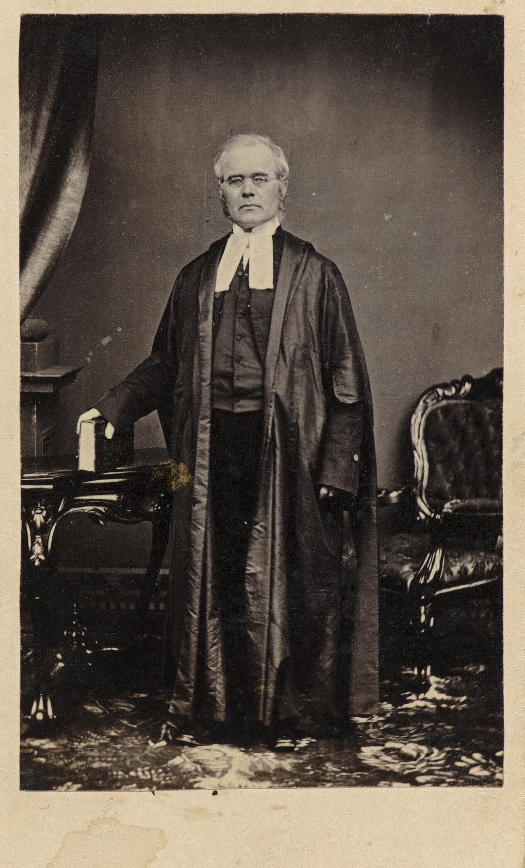 Le Juge John Maguire, de l'album de collection dit de Napoléon Garneau