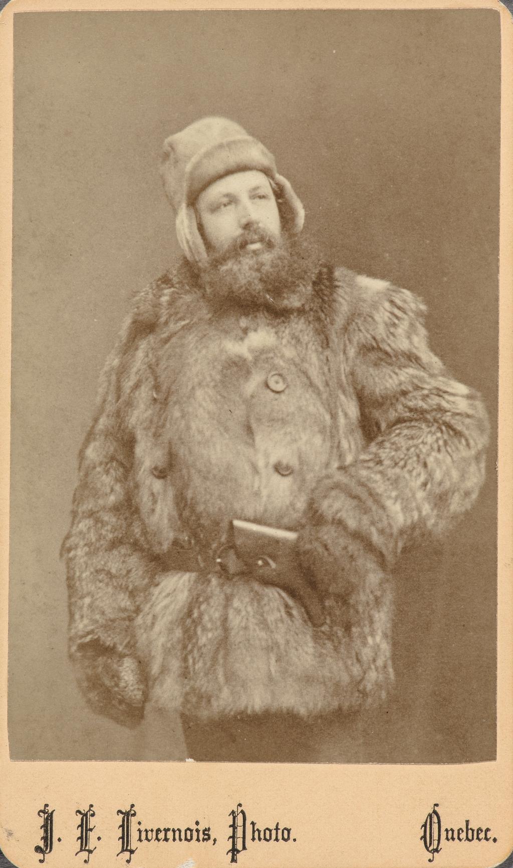V. Vannier, en costume d'hiver, de l'album de collection dit de Napoléon Garneau
