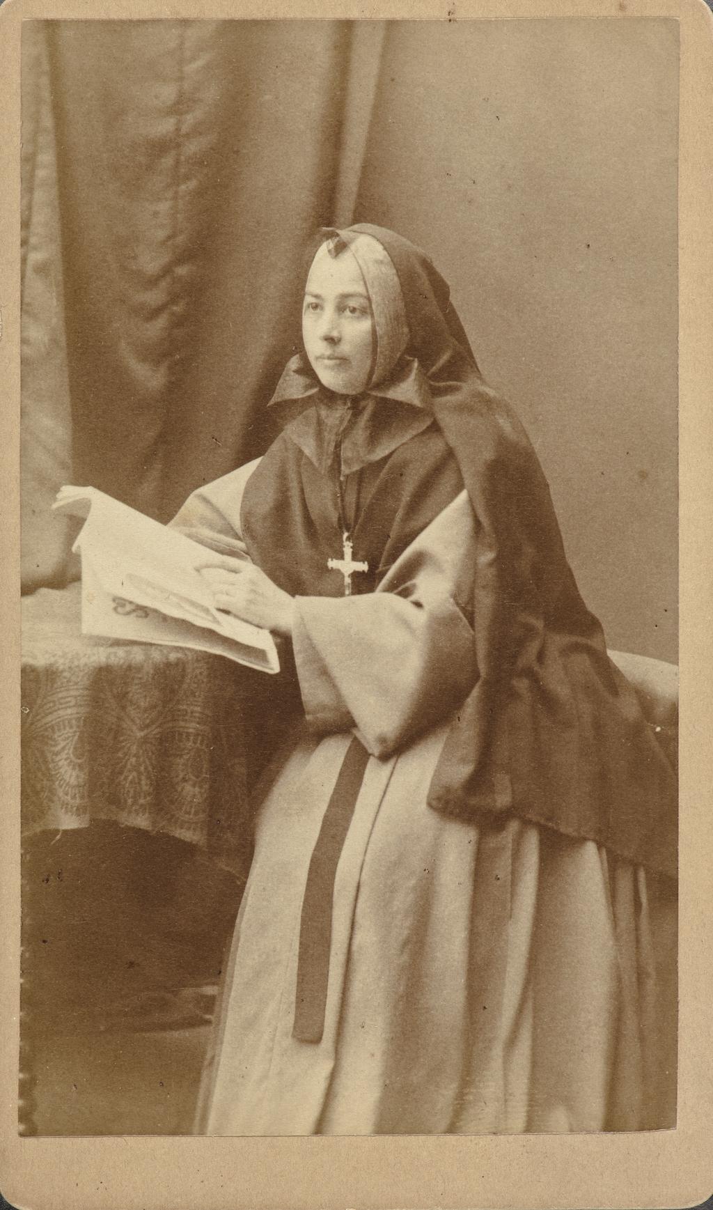 Soeur de la Charité ou Soeur Grise, de l'album de collection dit de Napoléon Garneau