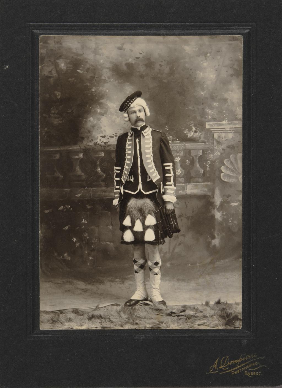 Highlander de l'armée de Wolfe, spectacle historique, tricentenaire de Québec