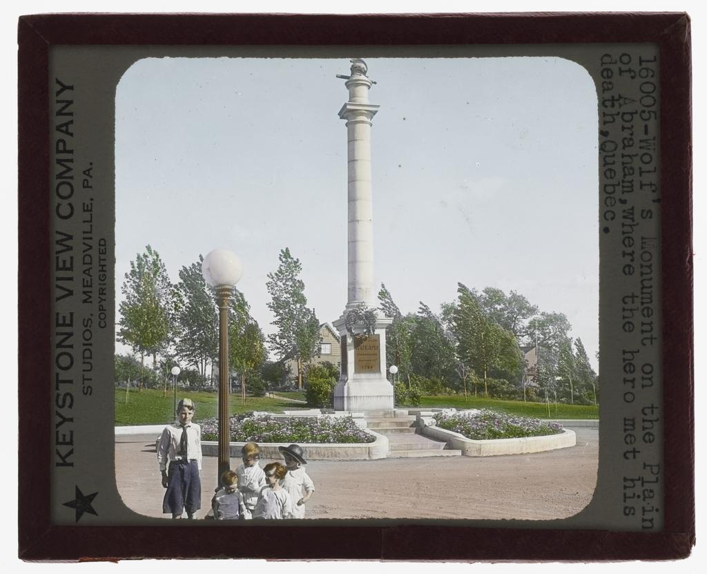 Le Monument à Wolfe, Québec