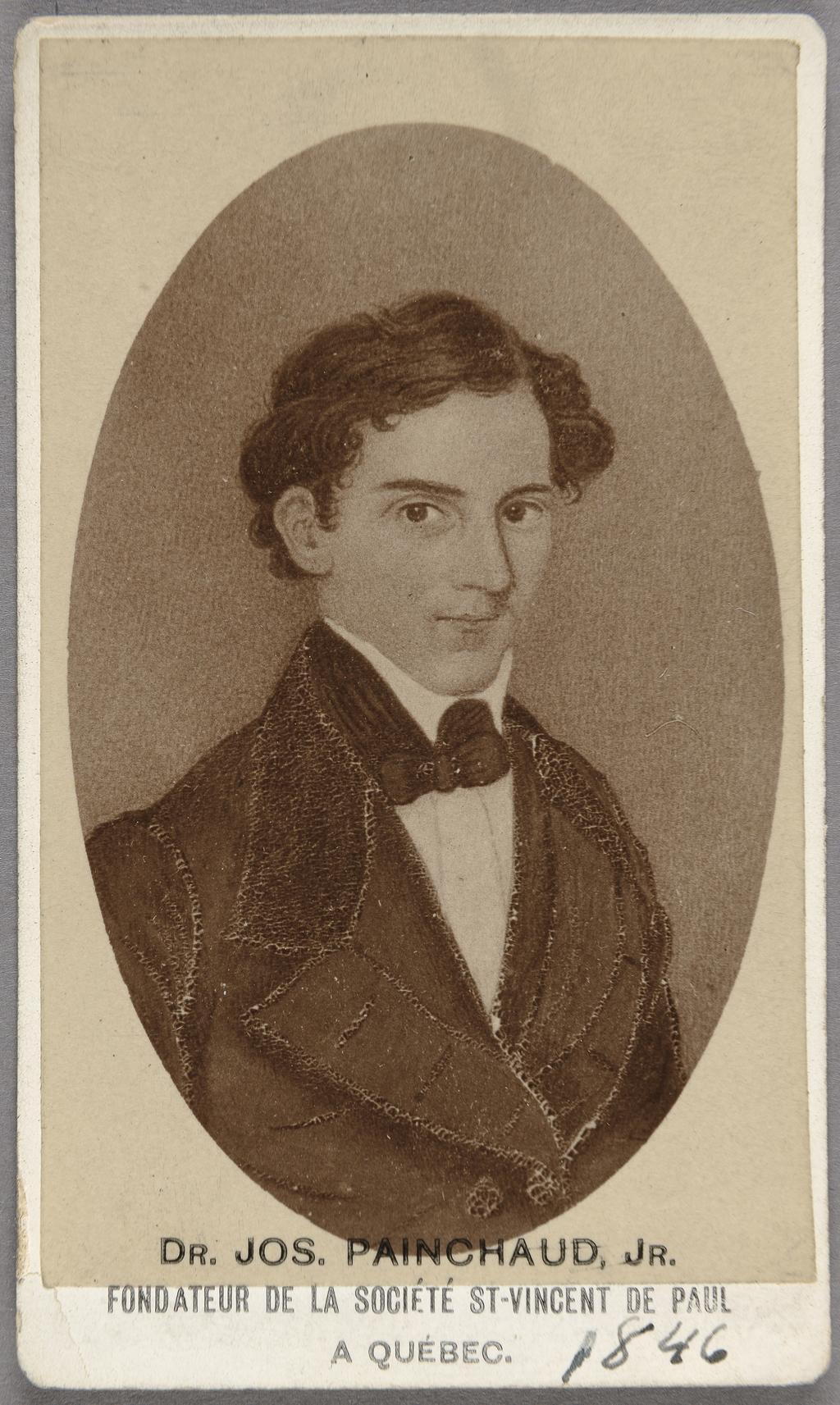 Joseph Painchaud. Photographie d'une miniature de Gerome Fassio