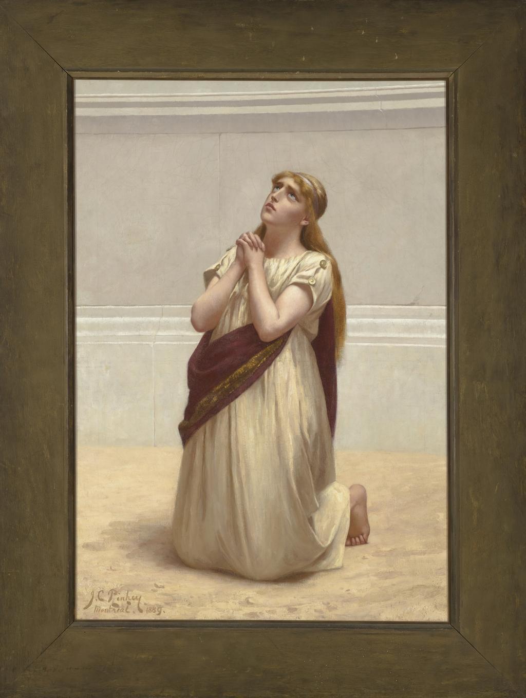 Une martyre chrétienne