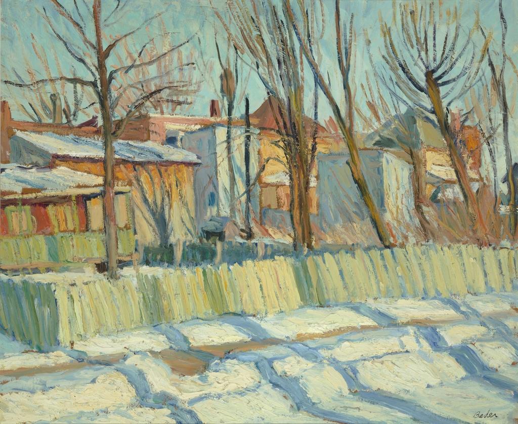 Une rue de Cartierville