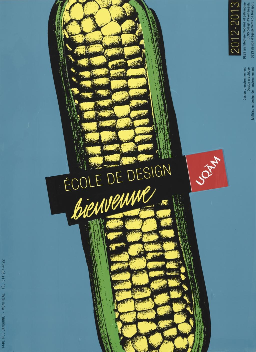 Bienvenue. École de design 2012-2013