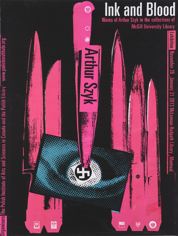 Ink and Blood. Arthur Szyk (noir)