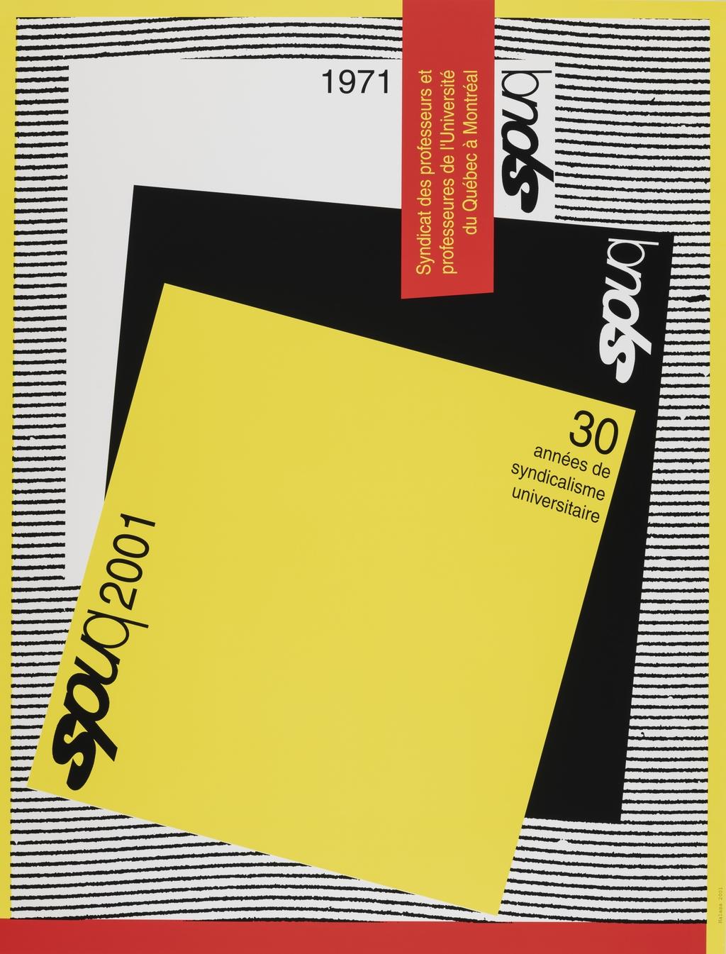 SPUQ 1971-2001. 30 Années de syndicalisme universitaire