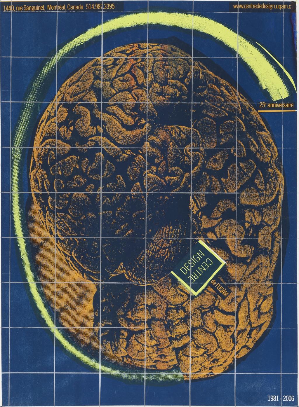 25e Anniversaire du Centre de design de l'UQAM 1981-2006