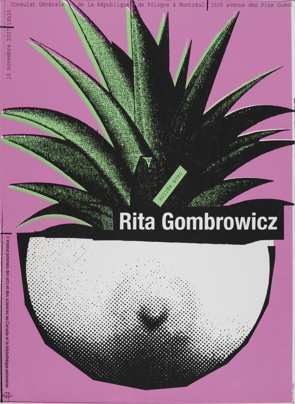 Soirée avec Rita Gombrowicz