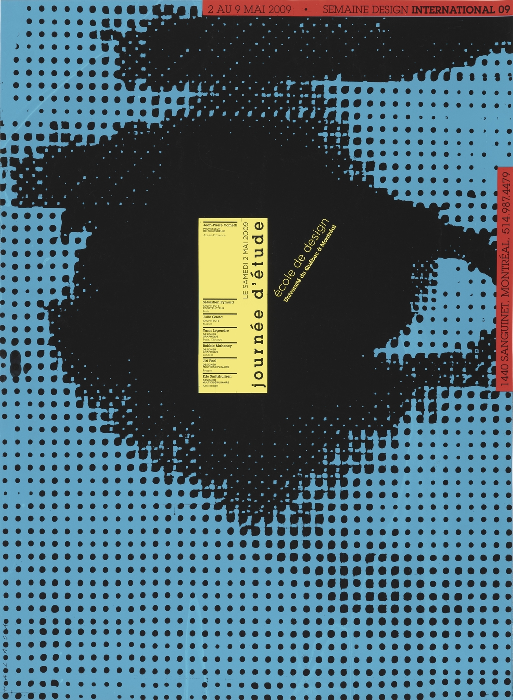 Journée d'étude 2009. École de design