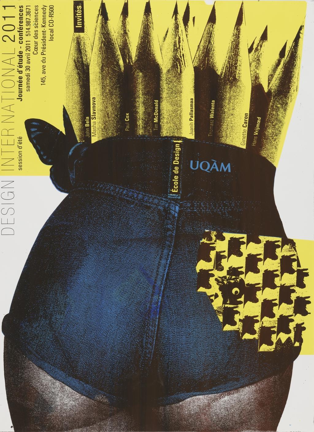 Design international 2011. Journée d'étude - Conférences