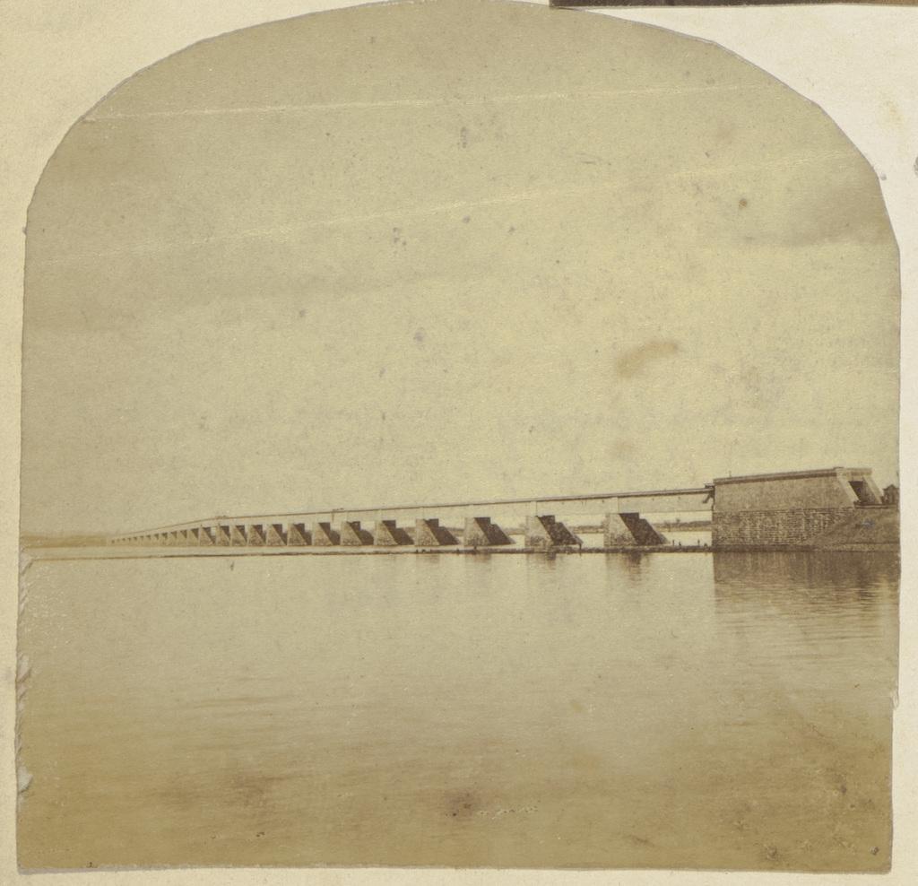 Le Pont Victoria, Montréal, extrait d'un album