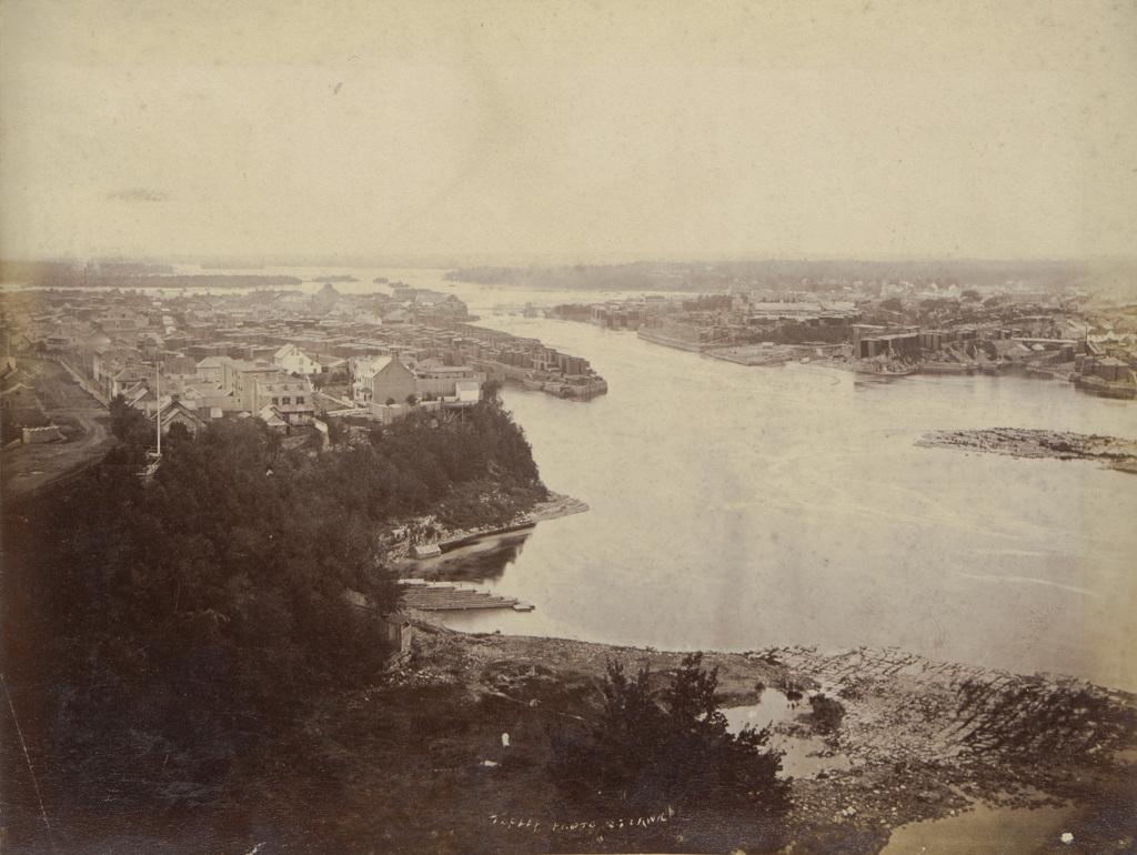 Panorama d'Ottawa et de Hull, extrait d'un album