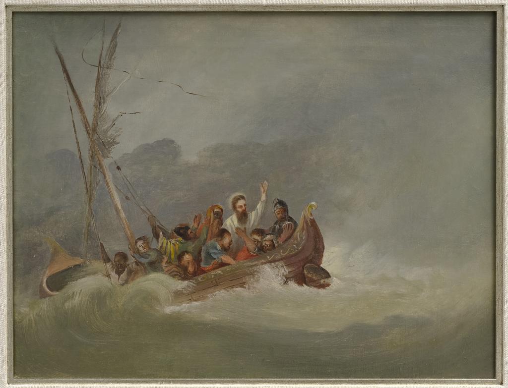 Le Christ apaisant la tempête
