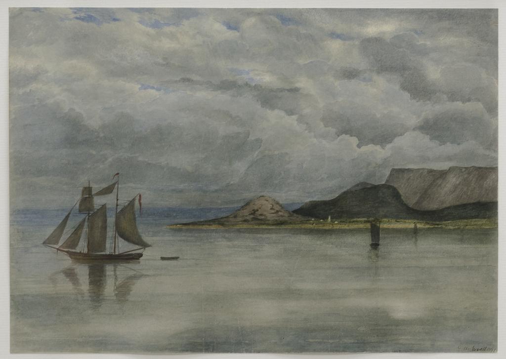 La Goélette sur le fleuve