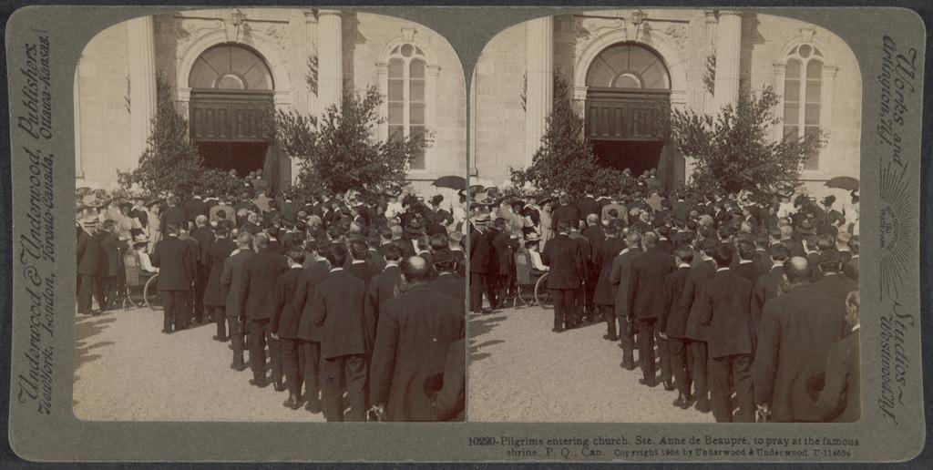 Pèlerinage à Sainte-Anne-de-Beaupré