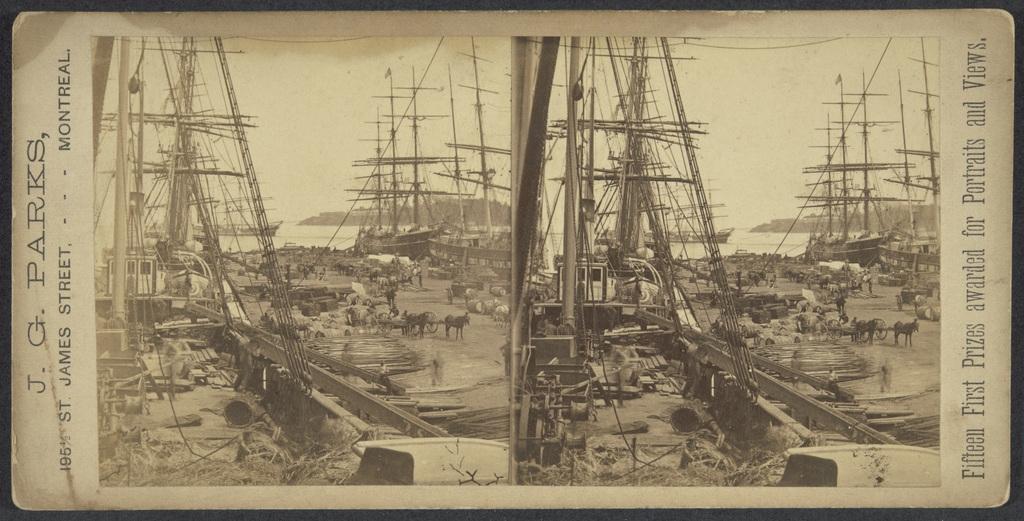 Les Quais au port de Montréal
